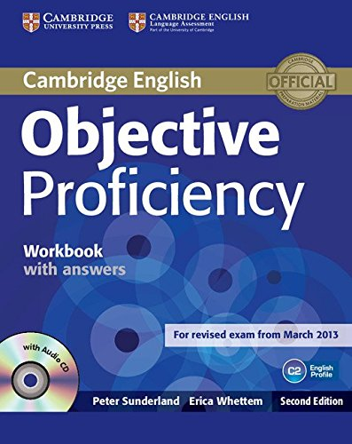 Objective Proficiency Workbook with Answers with Audio CD [Lingua inglese]