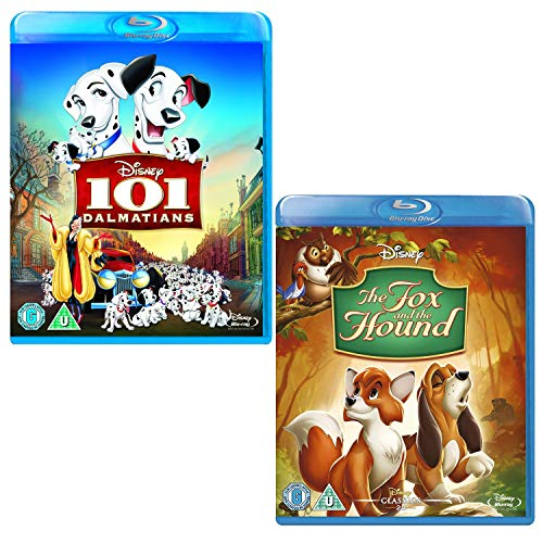 101 Dalmatians - The Fox And The Hound - 2 Movie Bundling Blu-ray