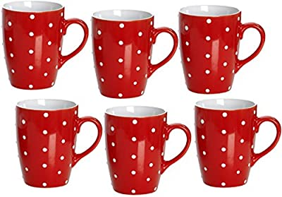 Set of 6 Coffee-chocolate Mug By Ritzenhoff & Breker