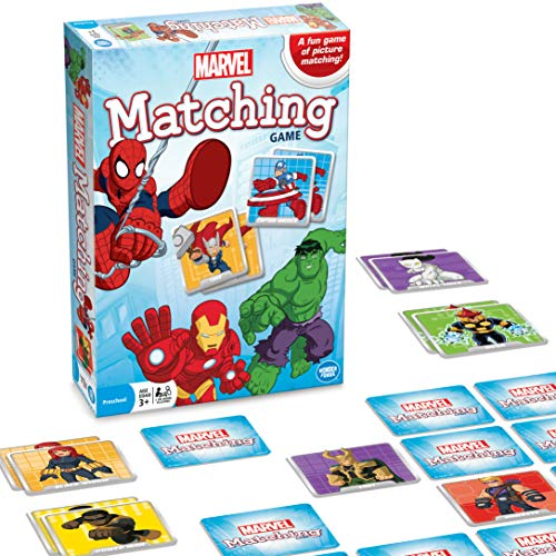 Product Image of the Marvel Matching Game