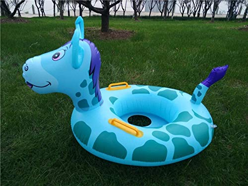 Yqs Al Aire Libre Anillo De Natación Círculo de la Nadada Piscina Juguetes inflables del Anillo del Flotador del Asiento del niño de la Piscina de Agua Círculo Swim Juguetes de Agua (Color : Donkey)