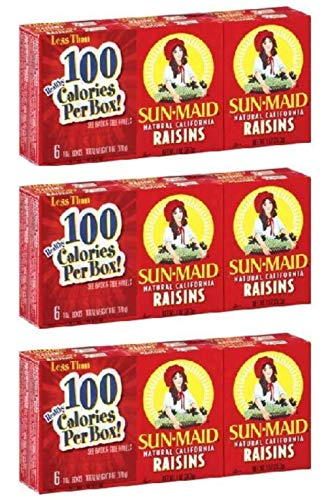 Sun Maid California Raisins Mini Boxes ×3箱
