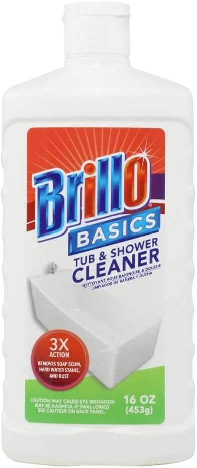 Brillo Basics Sale Tub and Shower Heavy NEW Oz Duty Cleaner 16