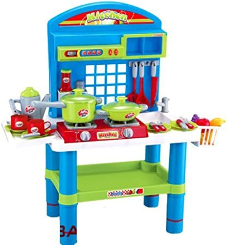 Deluxe Kitchen Appliance Cooking Play Set 28  w  Lights & Sound