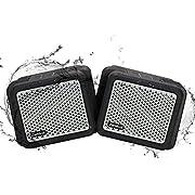 Zamkol Bluetooth Lautsprecher,25W Tragbarer Bluetooth-Lautsprecher,IPX7 Wasserdicht,Reinem Dual Treiber Bass,Integrierter 5200 mAh Akku, 12 Stunden Wiedergabezeit