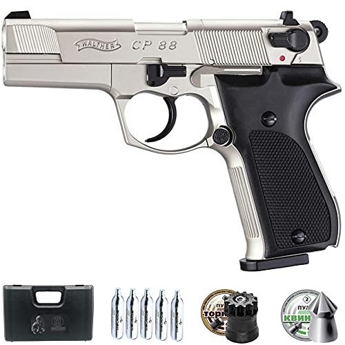 Pistola de balines Walther CP88 Nickel 3,5