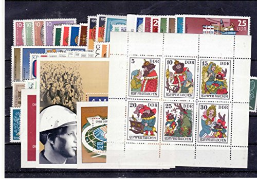 philaseum Briefmarken DDR, kompletter Jahrgang 1976, Postfrisch