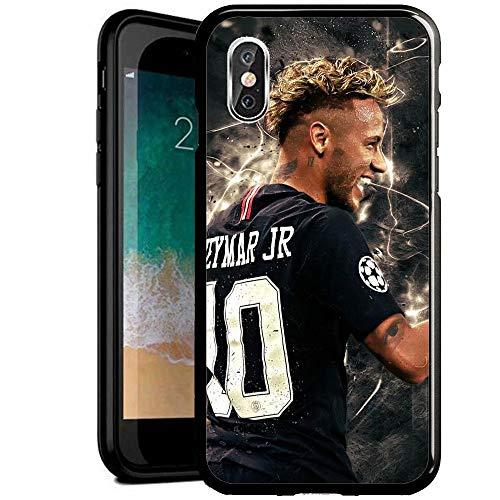 RY Funda para teléfono iPhone 6/iPhone 6S,Prueba Golpes Resistente arañazos Negro Cristal Templado Carcasa telefono [GNX1200003]