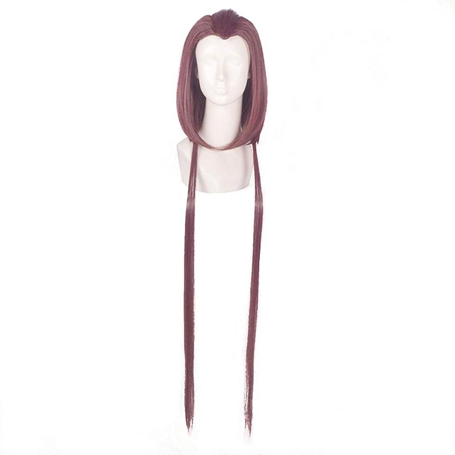 トロリースケジュールカテナ紫色の美しさのヒントモデリングウィッグコスプレウィッグアニメキャラクター
