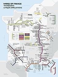 Metro Wine Map Of France – David Gissen