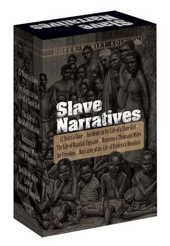 Slave Narratives Boxed Set (Dover Thrift Editions)