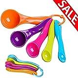 AEDILYS Measuring Spoons 5 Pcs Measuring Spoon 5 Pcs Measuring Spoon, 5 Pcs Measuring Spoons, Colorful