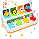 baccow Baby Toys 6 to 12-18 Months, Musical Pop-up Toys for 9 Months 1 Year Old Boys Girls Gifts...
