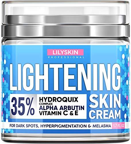 LILYSKIN Lightening Cream - Made in USA - 1.7 Oz