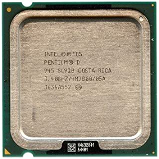 Intel Pentium D 945 3.40GHz 800MHz 4MB Socket 775 Dual-Core CPU
