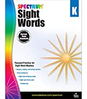 Spectrum Sight Words, Kindergarten