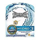 Wilkinson Hydro3 - Cuchillas de afeitar (8 unidades)