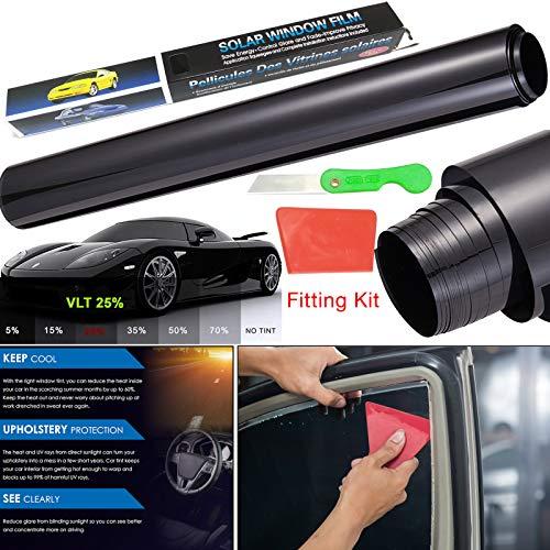 Película de vinilo universal de cristal UV para privacidad y reducción de...
