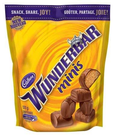 Cadbury Wunderbar Minis 120g {Imported from Canada}