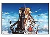 CoolChange Puzle de Sword Art Online, 1000 Piezas, Tema: Kirito & Asuna