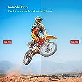 Victure AC200 Action Cam 1080P Full HD Unterwasserkamera wasserdichte 30M Sports Helmkamera mit kostenlosen Montage Zubehör Kits