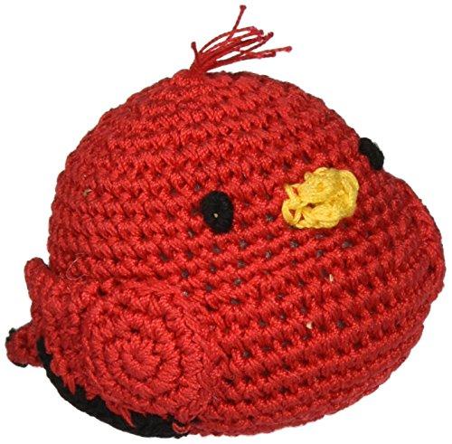 Knit Knacks Organic Crocheted Small Dog Toy (Rockin' Robin)