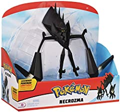 "12"" articulated large Pokemon Figure Highly detailed Pokemon Action figure with articulation! Gotta Catch 'Em All! Look out for our other Legendary Pokemon Figures: Solgaleo and Lunala The Perfect Pokemon Toy for Children 4 years old and up. Official..."