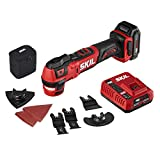 SKIL PWRCore 12 Brushless 12V Oscillating Tool Kit with 40pcs Accessories, Includes 2.0Ah Lithium Battery and...
