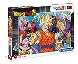 Clementoni- Dragon Ball Puzzle Suelo, 180 Piezas, Multicolor, 180pezzi (29755)