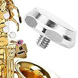 【𝐎𝐟𝐞𝐫𝐭𝐚𝐬 𝐝𝐞 𝐁𝐥𝐚𝐜𝐤 𝐅𝐫𝐢𝐝𝐚𝒚】Botón de saxofón de diseño práctico, hermoso botón musical, fácil de usar, reduce el volumen de los saxofones altos para el hogar