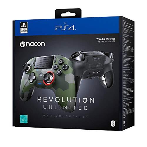 Nacon Revolution Unlimited Pro Controller - Camo Green