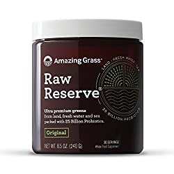 AMAZING INGREDIENTS - Our Raw Reserve contains an exquisite mix of greens from land fresh water and sea as well as superfoods & root vegetables. It contains organic alkalizing cereal grasses like Wheat Grasses, Barley, Alfalfa, Kale, Nettle and Dande...