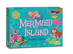 Best Toys for 5 Year Old Girls-Peaceable Kingdom Mermaid Island