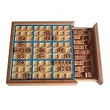 Larcele Sudoku Bois Puzzles Nombre Jeux de Plateau sd-02