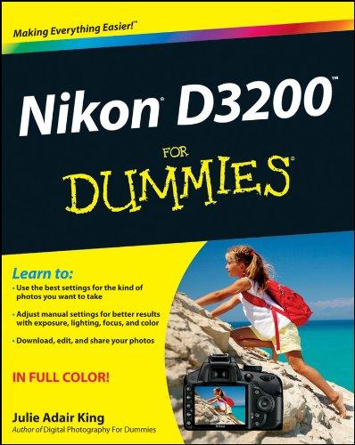 Nikon D3200 For Dummies (English Edition)