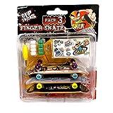 Grip & Tricks - 3 Finger Skate - Mini Skate Pack 3