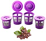 Reusable K Cups Coffee Filter Pod for Keurig 1.0 & 2.0 Machines - K-Cup Refillable Fits K-Duo,...