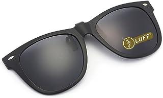 99a098b15c LUFF Gafas de sol polarizadas con clip Unisex-Elegantes y cómodos Clips  Gafas de sol