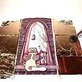 To-Do 88701 Pennello Bombasino per Doratura, Legno e Fibre Sintetiche, Nero, 8x4x15 cm