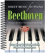 Best ludwig van beethoven sheet music Reviews