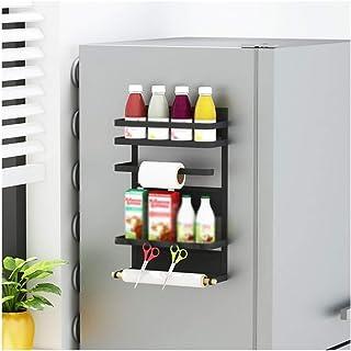 WWXL Cintres antidérapants, Organisateur de Rangement Cuisine réfrigérateur Support de Rangement latéral paroi latérale Or...