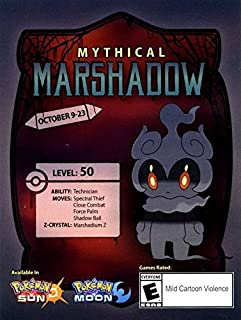 Best marshadow code pokemon Reviews