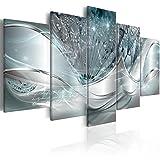 murando Impression sur Toile intissee Abstrait Fleurs 200x100 cm 5 Parties Tableau Tableaux Decoration Murale Photo Image Artistique Photographie Graphique Pissenlit a-C-0087-b-o