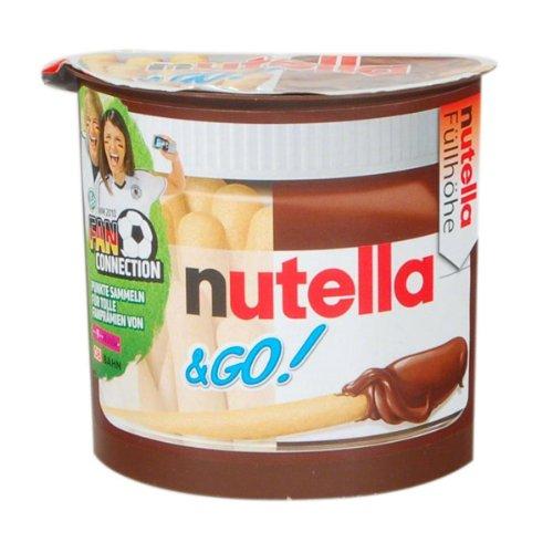 Ferrero Deutschland GmbH: Ferrero Nutella & Go - 1 Karton mit 24 Becher à 52 gr
