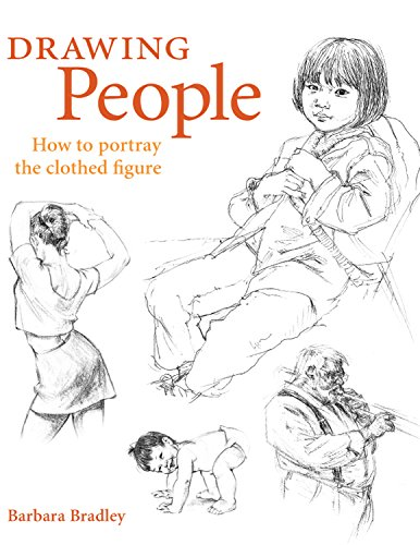 Drawing People by Barbara Bradley 1581803591