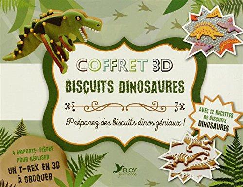 Coffret 3D biscuits dinosaures (cuisine pour les enfants)