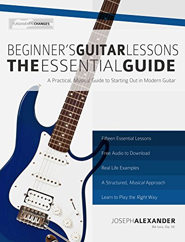 free electric guitar lessons for beginners