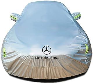 Size : ML300 A-SRHY Autoabdeckung Autogarage Abdeckplane Mercedes Benz ML Series Spezial Car Cover SUV Dicker Oxford Stoff Sonnenschutz Indoor Outdoor Autoplanen