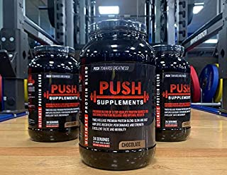 Push Supplements Ultimate Protein Blend Chocolate