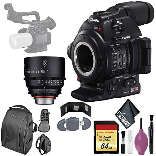 Review Of Canon EOS C100 Mark II Cinema EOS Camera with Dual Pixel CMOS AF (Body Only) International...
